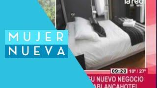 Carolina Oliva tiene junto a Paul Barreaux un exitoso negocio hotelero