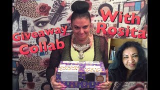 Giveaway Collab With Rosita 😍Rosa