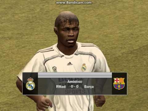 Un partidi amistozo con el Real Madril VS Barcelona