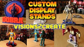 Display Stands by Visions2Create