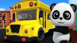 Roues sur le bus | Musique pour enfants | Comptine | Kids Song | Kids Rhyme | Wheels On The Bus
