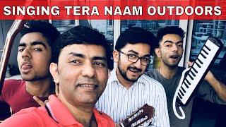 Sajjad Ali - TERA NAAM Outdoor jam - LIVE