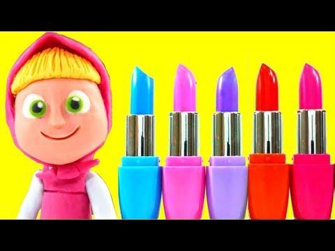Xxx Mp4 MASHA NEW MAKE UP ❤ Frozen Elsa Superhero Play Doh Cartoons Stop Motion Videos For Kids 3gp Sex