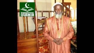 Dr Ahmad Sawadogo : Prêche du Vendredi 3 Mars 2017 à la Grande Mosquée Sunnite de Ouagadougou