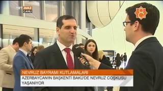 Nevruz Gala 2017 Öncesi Röportajlar - Bakü - TRT Avaz Haber