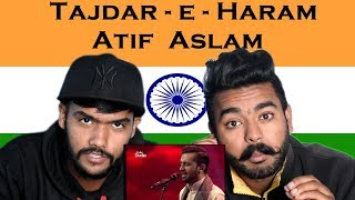 Indian react on Tajdar-e-Haram | Atif Aslam | Swaggy D reaction |Coke Studio