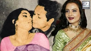 Rekha Was KISSED Forcefully By Biswajit REVEALED