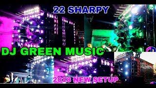 DJ GREEN MUSIC!!DAY&NIGHT SHOW SETUP!!2018 NEW SETUP!!KLMCIN LAXMI PUJA BHASANI