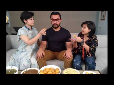 Geetha Babita Teasing Aamir Khan in Dangal Training Set | Zaira Wasim Birthday Party