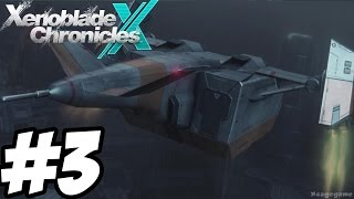 Xenoblade Chronicles X - Gameplay Walkthrough Part 3 [ HD ] - No Commentary