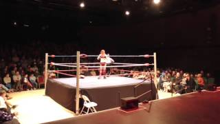 *FULL FREE MATCH* Lizzy Styles vs Ruby Summers - Megaslam Wrestling - Fareham - 30/01/2016