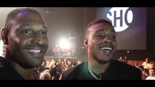 Kell Brook & Errol Spence Discuss REMATCH FACE TO FACE | TSS BOXING