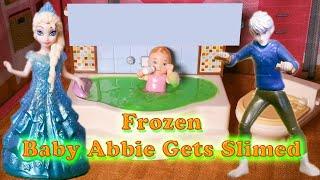FROZEN Disney Elsa and Jack Frost Slime Disney Frozen Video Toys Parody
