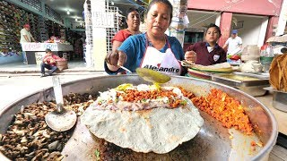 EXTREME Mexican Street Food in Oaxaca | INSANE Mexican Street Food Tour in Oaxaca, Mexico