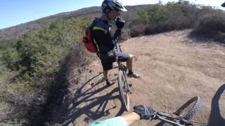 Laguna Canyon DownHill part 3 (Hal Strong) Mountain Bike