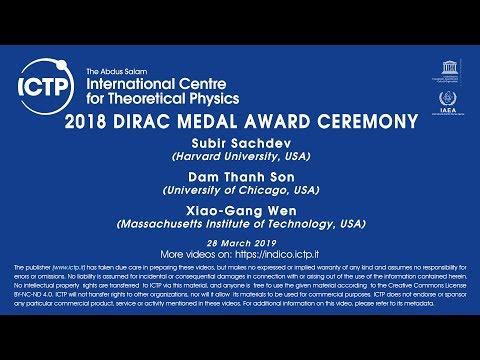Xxx Mp4 2018 Dirac Medal Award Ceremony 3gp Sex