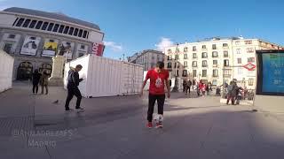 تکنیک دیدنی جوان ایرانی در اسپانیا