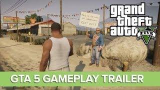 GTA 5 Gameplay Trailer - New GTA 5 Gameplay Video