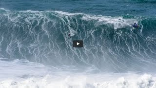 Biggest Nazare Swell in Two Years Caps Season to Remember #MagicNumbers