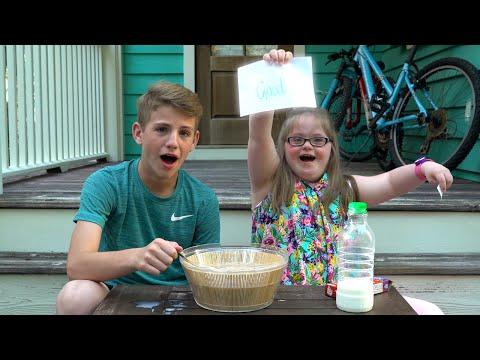 Weird Cereal Challenge MattyBRaps vs Sarah Grace