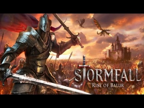 Review: Stormfall - Rise of Blaur (by Plarium) -  iOS / Android - HD Gameplay