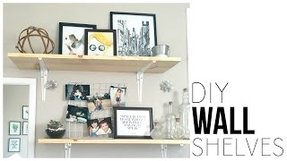 DIY Wall Shelves | Make Shelves For Under $13