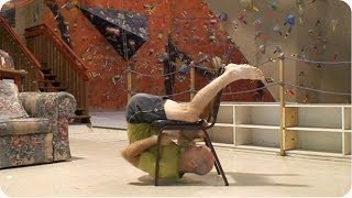 The AMAZING Chair Climbing Man | #ThrowbackThursday