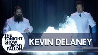 Kevin Delaney Helps Jimmy Let It Glow with a Frozen 2-Inspired Experiment