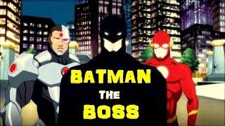 BATMAN Rules Justice League || Justice League Vs Teen Titans 2016 Movie ||
