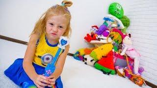 Игрушки убежали от Насти / The toys ran away from Nastya