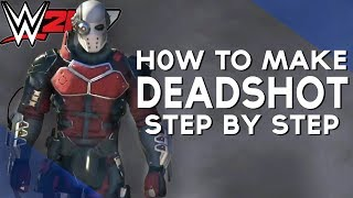 WWE 2K17 | HOW TO MAKE - DEADSHOT