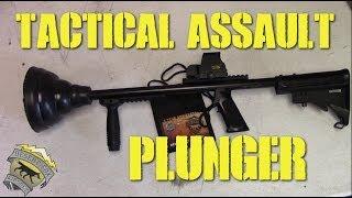 DesertFox Airsoft: SS Airsoft Tactical Assault Plunger (Plunger Kills)