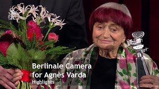 Berlinale Camera for Agnès Varda | Berlinale 2019