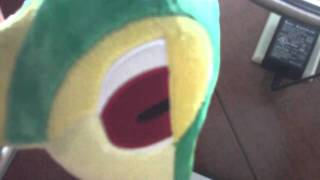 Talking Tsutarja / Snivy Plushie
