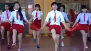 Nữ sinh THPT Trần Đại Nghĩa nhảy Aerobic cực hay