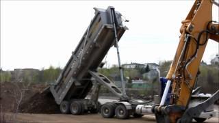 Kenworth T800 With Dump Trailer