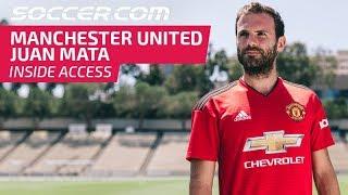 Juan Mata and Manchester United