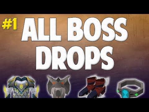 Runescape 2017   Road to All Boss Drops #1