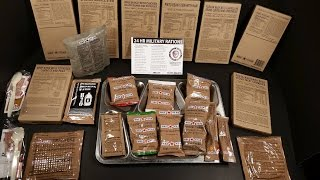 2016 24 Hour MRE Review Military Food Taste Test Ready Meal A Fist Full of Generic Corn Nuts Hamfest