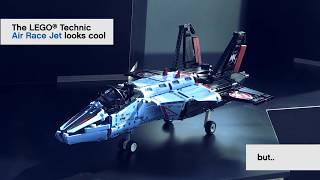 Make the Air Race Jet fly - LEGO Technic - Challenge