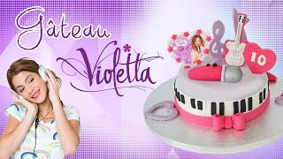 Gâteau Violetta - Violetta cake