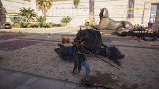 Assassin's Creed® Origins COP Giant scorpion fight