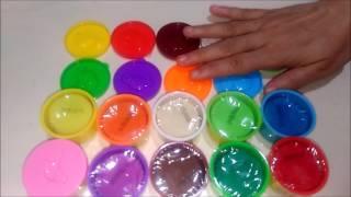 لعبة الصلصال للأطفال : 10 عبوات و الوان : الطين الإصطناعي : العاب بنات و أولاد : العاب عبير
