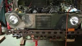 Repair M422A1 Mighty Mite. Japan  Nov/2009