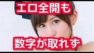 """前田敦子『毒島ゆり子』初回2 1%で過去最低! AKB元エースの""""エロ大安売り""""は「物悲しい」"""