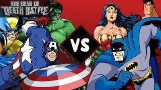 Marvel VS DC Comics   Desk of DEATH BATTLE