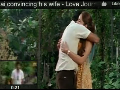 Jai consoling his wife - Love Journey Movie Scenes - Jai, Shazahn Padamsee