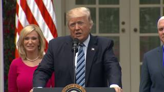 FULL: President Donald Trump participates in the National Day of Prayer event in the Rose Garden