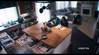 A Haunted House - Kitchen Scene with The Ghost Funny Moment Türkçe Dublaj
