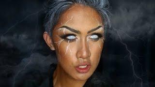 STORM (X-MEN) Makeup Tutorial